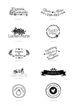 New Party Planning Logo Design Wedding Invitations Ideas Wedding Logo Design, Wedding Logos, Wedding Invitation Design, Wedding Stationary, Wedding Cards, Our Wedding, Dream Wedding, Save The Date, Perfect Wedding
