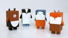 Los Suwappu son la última frikada => Tecnología en muñequitos con los que interactuar con tu iPad o iPhone