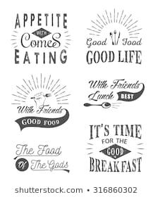 Find Set Vintage Food Typographic Quotes Vector stock images in HD and millions of other royalty-free stock photos, illustrations and vectors in the Shutterstock collection. Its Friday Quotes, Sunday Quotes, Vintage Recipes, Vintage Food, Good Morning Cat, Tgif Funny, Funny Comments, Food Quotes, Flower Quotes