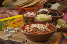 Red Pozole with Knorr
