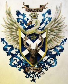 Trueheart Coat Of Arms By XrobingoodfellowxDeviantartCom On