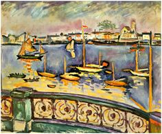 Port of Antwerp - Georges Braque 1906