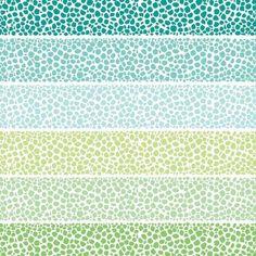 Riverside Zen Pebbles en Impression sur toile par Pom Graphic Design | JUNIQE