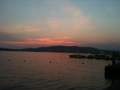 Sunset on Vodice , Croatia