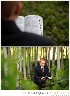 LDS missionary photo session