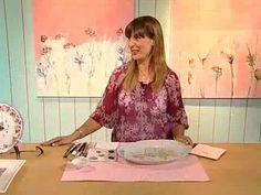 Una maravillosa clase de Cecil Somosa donde nos enseña a pintar sobre porcelana -*-*- Manualidades -Pintura Decorativa - Deco Tortas - Ferias - Exposiciones:...