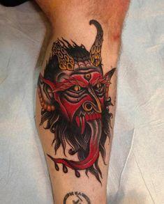 tattoo-calf-devil-old_school.jpg (482×600)