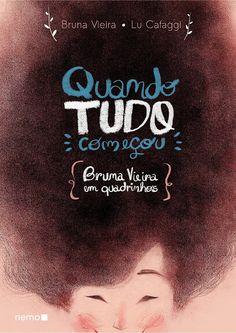 Cantinho da Leitura: HQ de Bruna Vieira ganha capa