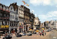Bienvenue Grand'Place de Lille dans les années 1950 - 1960 !