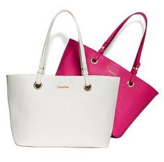 WOW Factor: Totes chic. Calvin Klein #purse #bag BUY NOW!