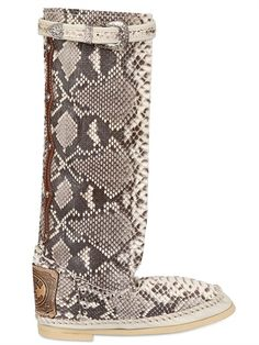 HECTOR20MM PYTHON BOOTS