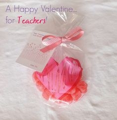 Last Minute Valentines For Teachers - With Printable!