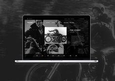 Triumph Classics Website on Behance