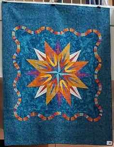 Vintage Compass, Quiltworx.com, Made by a participant of the Minnesota Quilt Show in June 2017 Star Quilts, Quilt Blocks, Vintage Compass, Foundation Paper Piecing, Educational Videos, Vintage Patterns, Minnesota, Quilt Patterns, June
