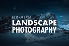 """""""MY TOP 16 FAVORITE APPS""""  If you love photography and be outdoor, this is the right post for you. Take a look to the brand new article about MY TOP 16 FAVORITE APPS for Landscape Photography which I use either for planning, scouting, general workflow or post-processing adjustments."""