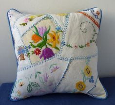 crazy cushion | This was a test to see if I could make a cra… | Flickr