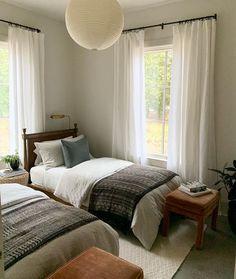 Home Bedroom, Kids Bedroom, Bedroom Decor, Bedrooms, Interior Inspiration, Room Inspiration, Living Spaces, Sweet Home, Cottage