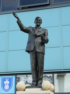 The Jimmy Hill Statue at the Ricoh