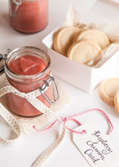 Great gift-giving is an art form — finding a present that is the perfect balance of thoughtful, practical, intimate, and memorable.  Sometimes this process can be a bit overwhelming.  However, if you love to DIY, then the idea of a homemade gift can make things a whole lot easier.      I tend to follow the edible gift route, as I find that making treats is a sensible, personal — and not to mention delicious — way to spoil loved ones. With Mother's Day just around the corner, this raspberry…