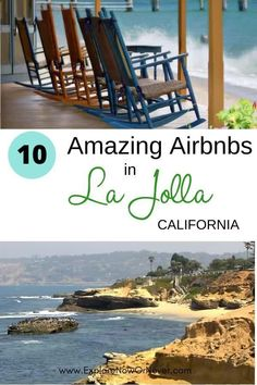 Heading to San Diego? This is a list—by a local—of the top 10 beachy Airbnbs in La Jolla, one of San Diego's most upscale neighborhoods. From surf shacks to luxe oceanfront retreats, your perfect vacation getaway awaits. Read more here. La Jolla California where to stay | San Diego Airbnbs | where to stay in San Diego | Things to do in La Jolla | La Jolla Cove | California bucket list | best California Airbnbs | San Diego travel tips Airbnb California, California Attractions, California Travel Guide, La Jolla California, California Trip, La Jolla Beach, La Jolla Cove, Travel Usa, Travel Tips