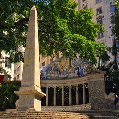 Obelisk at Largo da Memoria, Sao Paulo - Brazil click the photo to read the story (portuguese only)