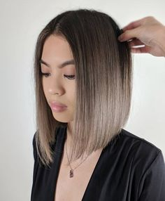 30 Gorgeous hairstyles and fabulous hair color, brown hair ,balayage ,chocolate . Brown Hair Balayage, Blonde Balayage, Ombre Hair, Blonde Hair, Ombre Bob, Blunt Bob Hairstyles, Straight Hairstyles, Hairstyles Haircuts, Hairstyles Pictures