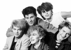 Duran Duran (by George DuBose) - Limited Edition, Archival Print Great Bands, Cool Bands, Roger Taylor Duran Duran, Nigel John Taylor, Nick Rhodes, Simon Le Bon, New Romantics, Thanks For The Memories, The New Wave