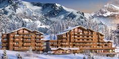 Luxurious 1-4 bedroom apartments in this brand new development at #Tignes1800 by MGM. Ski-in, #ski-out property for sale in Tignes les Bois village offers exceptional services including indoor swimming pool and spa and less than 100m from the gondola....