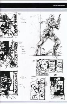 Metal Gear Solid Concept Art - Snake Concept Art