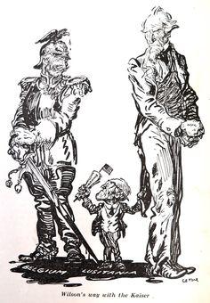 1920: political cartoon criticizing Great War era limits