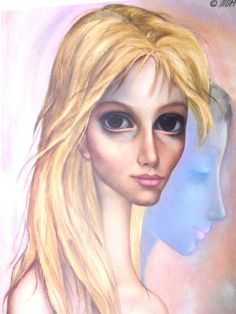 """Transition"" ~ Margaret Keane, 1962"