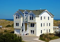 $1669 (5) -- Fiesta Seaesta - G810 is an Outer Banks Oceanfront vacation rental in Ocean Sands - H Corolla NC that features 8 bedrooms and 8 Full 1 Half bathrooms. This rental has a private pool, a pool table, and wifi among many other amenities. Click here for more. Beachfront Rentals, Oceanfront Vacation Rentals, Vacation Rentals By Owner, Corolla Beach, Corolla 2018, Beach House Pictures, Corolla Outer Banks, Beach Houses For Rent, Outer Banks Vacation