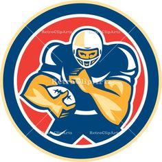 america, american, american football, artwork, ball, blocker, circle, defense, fend, fend off, fending, football, graphics, gridiron, headge...