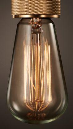 Buster + Punch filament bulb. Glødetråds pære.