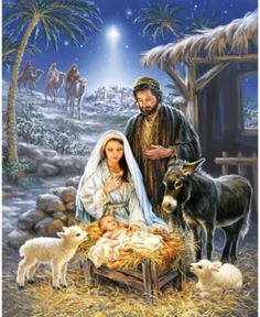 Remember the true meaning of Christmas with this beautiful puzzle. This gorgeous piece of artwork depicting the birth of Jesus and the coming of the 3 wise men is a truly awe-inspiring puzzle. Springbok Savior is Born Jigsaw Puzzle Christmas Nativity Scene, Christmas Scenes, Christmas Pictures, Christmas Crafts, Nativity Scenes, Nativity Scene Pictures, The Nativity, Christmas Printables, Christmas Wreaths