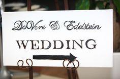 wedding directional sign #YourMiamiWedding