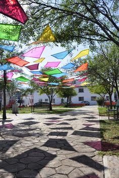 Ephemeral architecture on Pratt Portfolios Art Village, Urban Village, Landscape Architecture, Landscape Design, Garden Design, Kindergarten Design, Sensory Garden, Playground Design, Shade Structure
