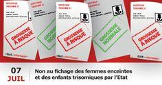 Le gouvernement a créé un fichage national relatif au dépistage prénatal de la…