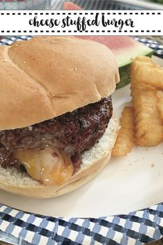 Make the very best cheeseburger with this delicious recipe from Everyday Party Magazine #Recipe #Grill