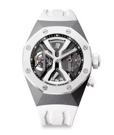 Pré-SIHH 2014 montre Audemars-Piguet Tourbillon Royal Oak Concept GMT