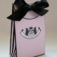 Juicy Couture Printable Gift Bag