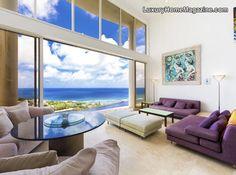 Ultra modern ocean view home