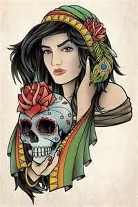 Pin Gypsy Tattoos Pictures And Images Page 6 On Pinterest