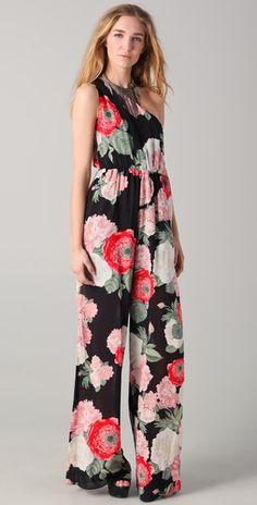 floral jumpsuit.