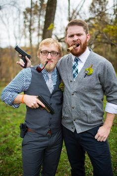 Manly wedding shots.<3 ooh you'd look sooo handsome in this