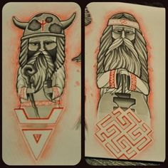 Сварог и Велес / Svarog and Weles