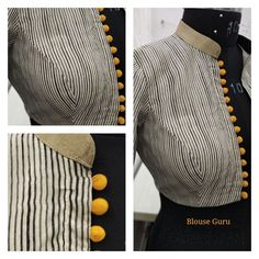Buy Online Blouse Drafts from Blouse Guru in Seconds. with different categories of Blouse Patterns. Sari Blouse Designs, Designer Blouse Patterns, Fancy Blouse Designs, Salwar Neck Designs, Stylish Blouse Design, Couture, Outfit, Saree Blouse, Sarees