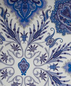 NEW SEASON! Liberty Art Fabrics Lord Paisley H Tana Lawn | Tana Lawn by Liberty Art Fabrics | Liberty.co.uk