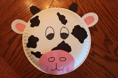 Paper Plate Cow Mask | stuf | Pinterest | Cow mask Paper plate masks and Farm crafts & Paper Plate Cow Mask | stuf | Pinterest | Cow mask Paper plate ...
