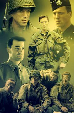 Band of Brothers HBO Dick Winters and Louis Nixon